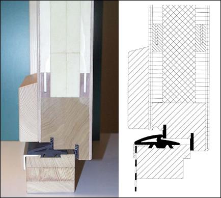 detrazioni - La porta di ingresso che isola come una finestra 32