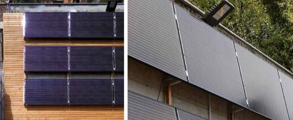 acqua calda sanitaria & solare termico - Pannelli solari in posizione verticale: massimo design e minimo rendimento? 2