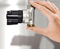 riscaldamento - Faccio bene a montare le valvole termostatiche? 2
