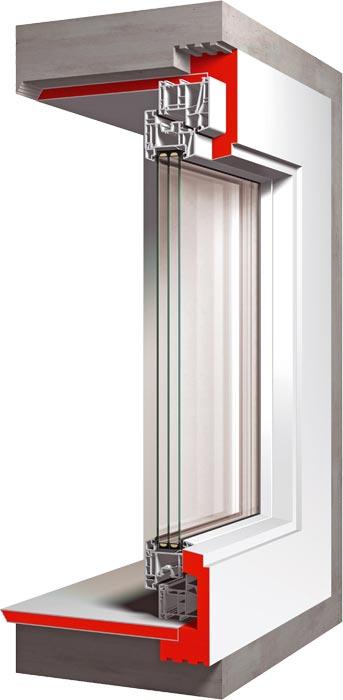 finestra pronta per casa passiva