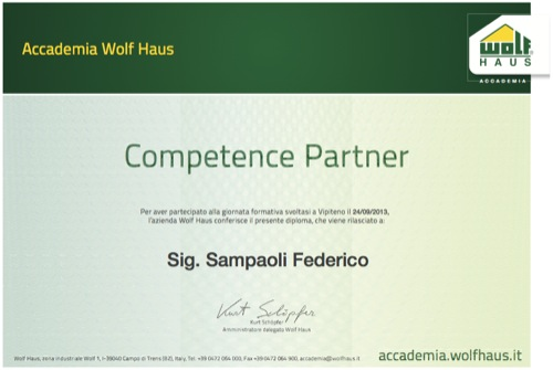 diploma accademia wolfhaus