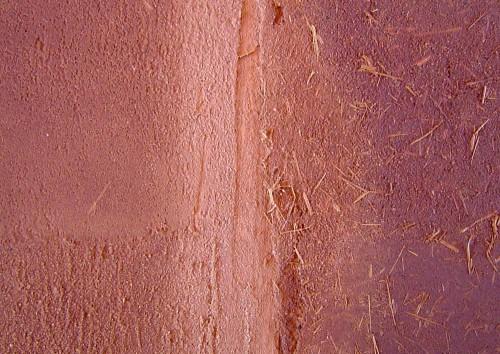 Finitura interna parete - Intonaco in argilla o terra cruda 28