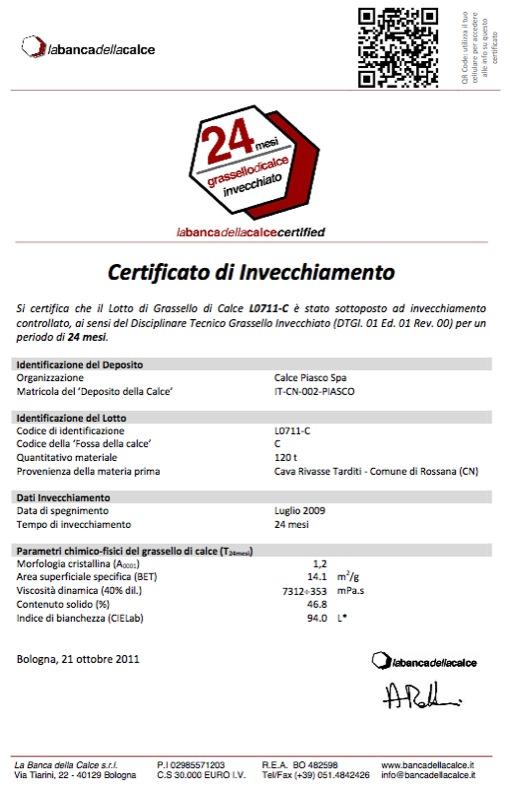 Grassello di calce espertocasaclima for Banca della calce