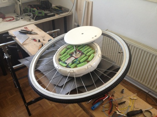 Bici elettrica FlyKly Smart Wheel