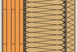 stratigrafia x-lam fibra legno