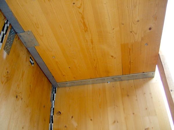 foto di cantiere - Eliminazione del ponte termico del balcone in struttura in x-lam – Zona Climatica E – GG 2784 – Lavis (TN) 6