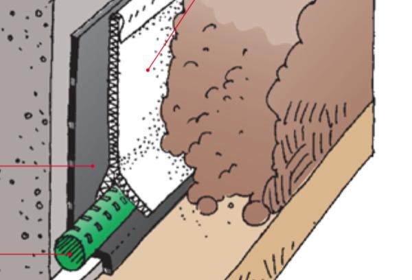 isolamento piede della muratura - Impermeabilizzare o progettare un drenaggio ? 4