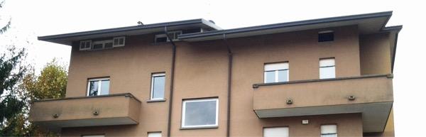 2013:  stratigrafie isolamento tetto in latero cemento, attenuazione ponti termici nodo tetto parete  Arcore MILANO  Gradi Giorno 2470  Zona Climatica E