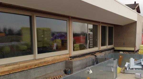 2013:  valutazioni sigillature serramenti e tenuta all aria nuova costruzione in legno a telaio  Orzano UDINE  Gradi Giorno 2587  Zona Climatica E