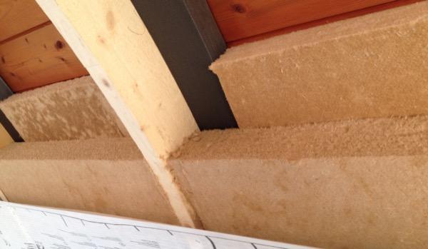 2014: coibentazione interna tetto a botte mansarda solaio interpiano fonoisolante attenuazione ponti termici finiture interne Gallarate VARESE Gradi Giorno 2877 Zona Climatica E
