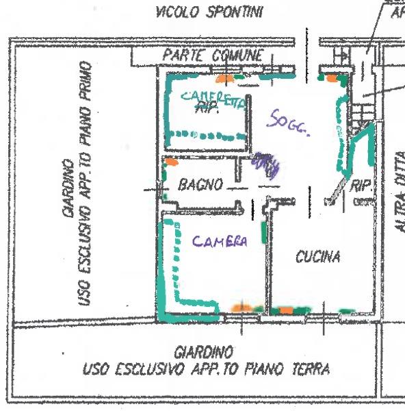 bonifica dalla muffa nuova finitura interna VMC decentralizzate a servizio di più ambienti Bollate MILANO Gradi Giorno 2404 Zona Climatica E