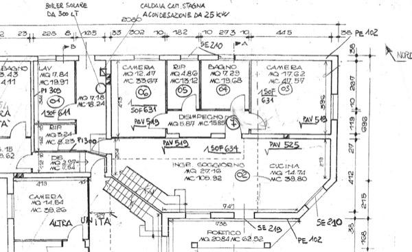 riqualificazione tetto e sottotetto sistema a cappotto schema VMC decentralizzata e finiture interne Sant Anna Morosina PADOVA Gradi Giorno 2431 Zona Climatica E