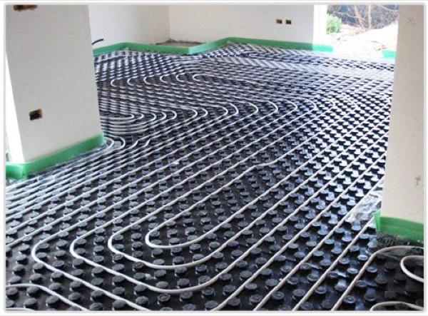 I pannelli radianti a pavimento tradizionali non sono for Casa tradizionale giapponese significa