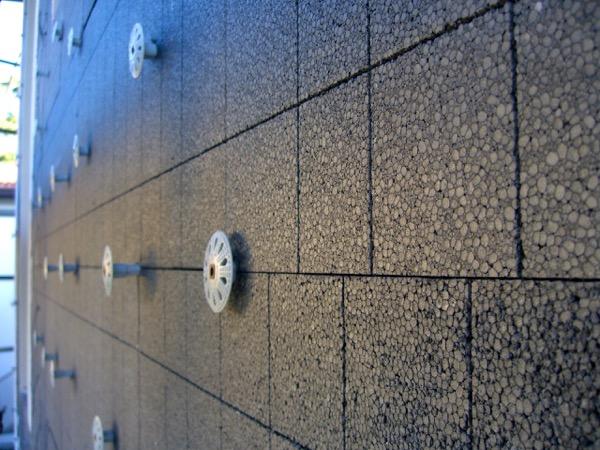 EDIFICIO & PARETE : - La grafite contenuta nel pannello in EPS grigio 58
