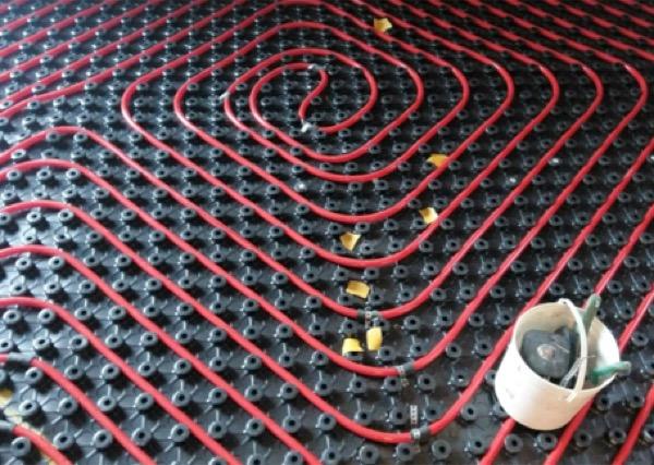 riscaldamento - Riscaldamento a pavimento a bassa inerzia 14
