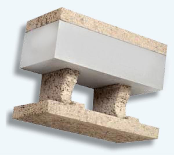 costruire con blocchi cassero legno cemento - Laterizio porizzato con eps e grafite oppure blocchi cassero in legno cemento con eps 4