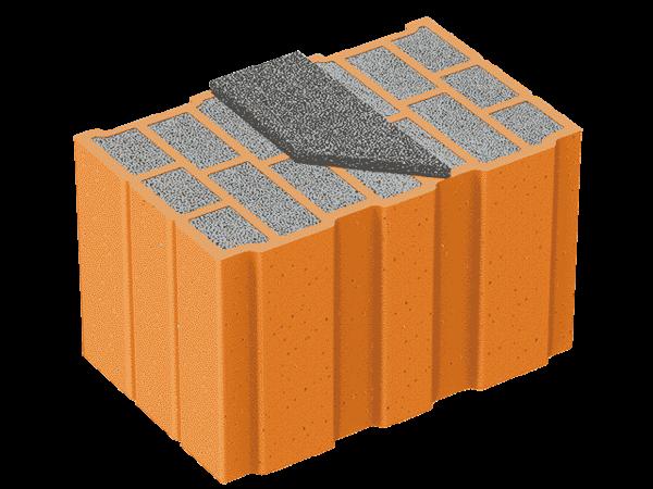 costruire con blocchi cassero legno cemento - Laterizio porizzato con eps e grafite oppure blocchi cassero in legno cemento con eps 2