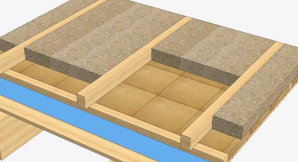 isolamento tetto in legno - Un tetto in legno con materiali sani e alla moda: canapa e argilla 24