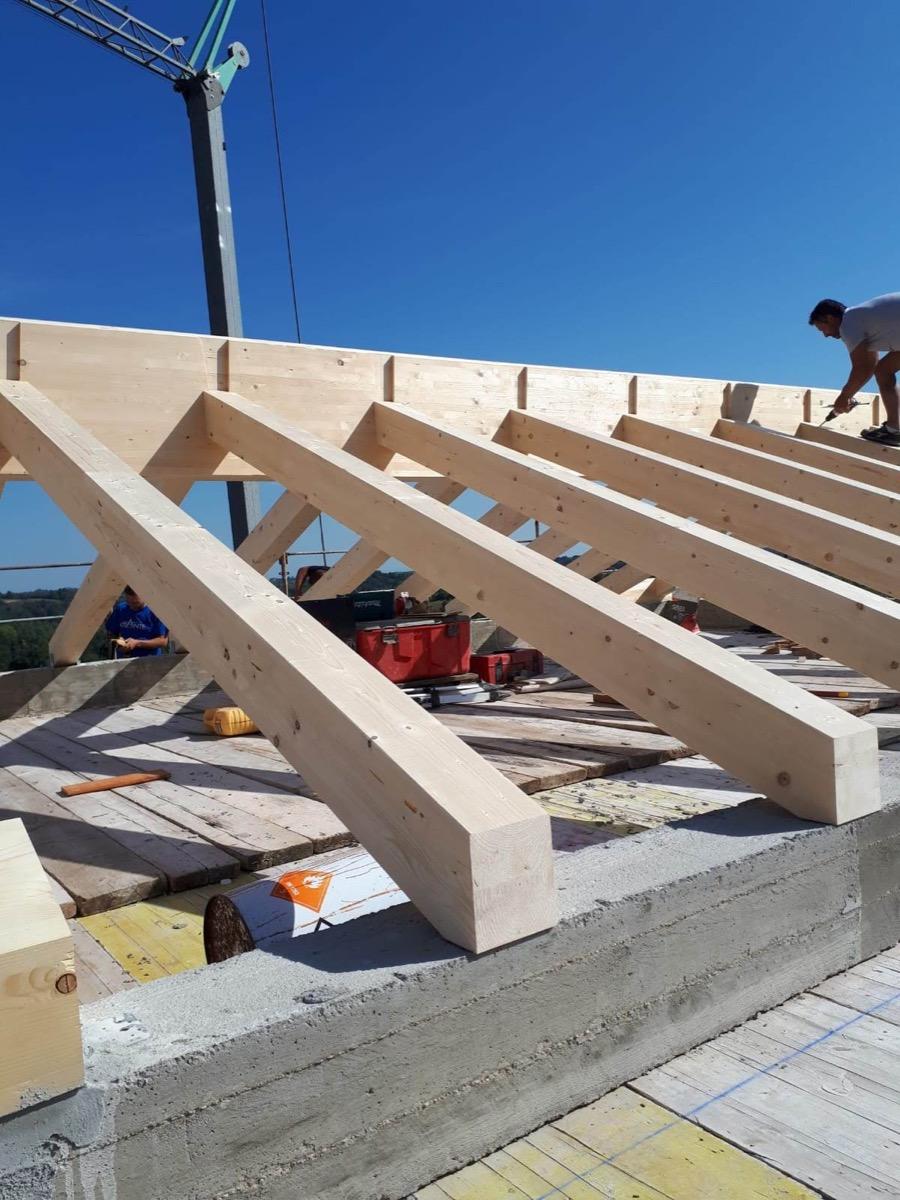 Costruire Tetto In Cemento terminologia appropriata tetto in legno