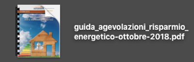 agevolazioni - Guida alle agevolazioni fiscali per risparmio energetico - ottobre 2018 24