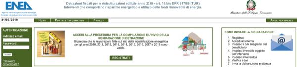 detrazioni fiscali 2019 - Il pesce d'aprile e l'invio della documentazione all'Enea che deve essere effettuato entro il 1° aprile 2019 6