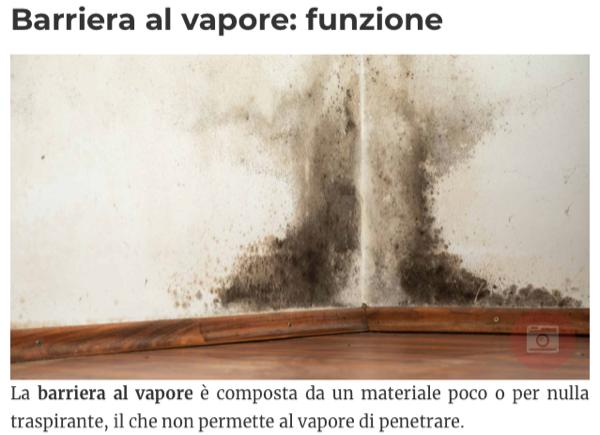comprendere la muffa - La migrazione del vapore  attraverso gli elementi di un edificio 18