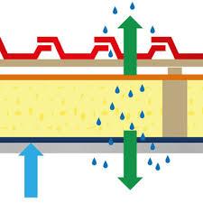 EDIFICIO & MUFFA : - La migrazione del vapore  attraverso gli elementi di un edificio 14
