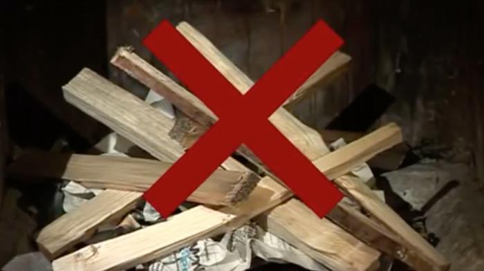 riscaldamento a legna - Accendere la stufa correttamente e senza fumo è efficienza energetica 6