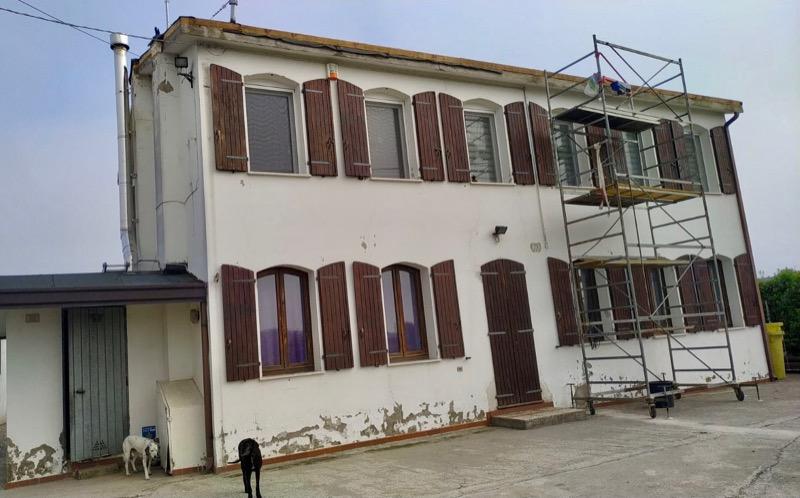 EDIFICIO & MUFFA : - Isolamento e risanamento essenziale di una casa in bimattoni in zona climatica E 8