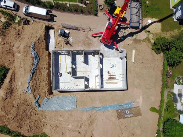 interrato - Isolamento e impermeabilizzazione dell' interrato in costruzione 2