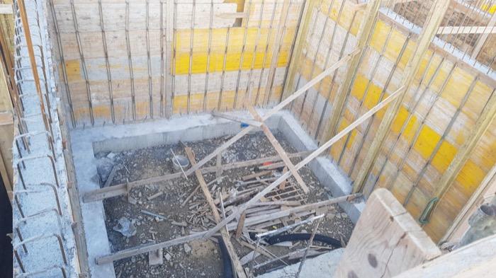 interrato - Isolamento e impermeabilizzazione dell' interrato in costruzione 6