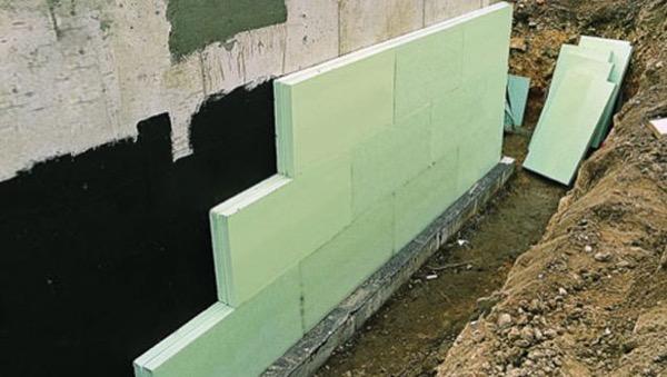 interrato - Isolamento e impermeabilizzazione dell' interrato in costruzione 16