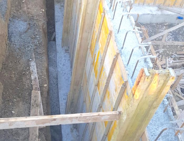 interrato - Isolamento e impermeabilizzazione dell' interrato in costruzione 12