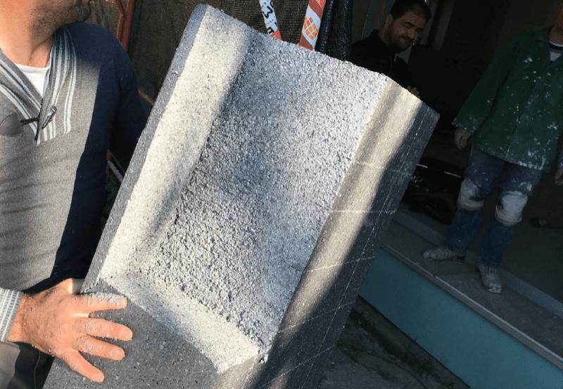 isolamento esterno a cappotto - Isolamento della parete in muratura armata per casa passiva 24