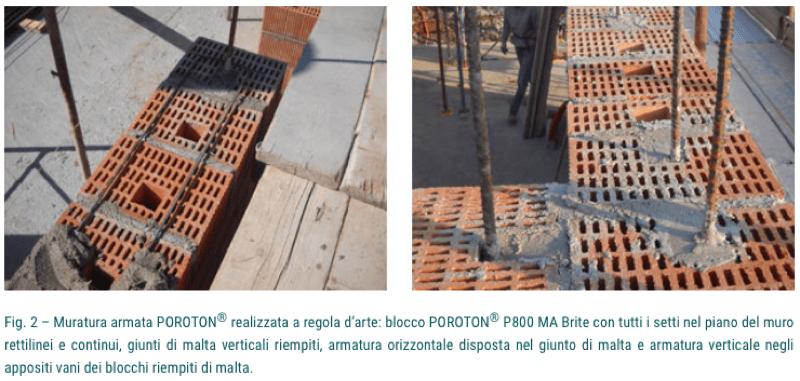 isolamento esterno a cappotto - Isolamento della parete in muratura armata per casa passiva 2