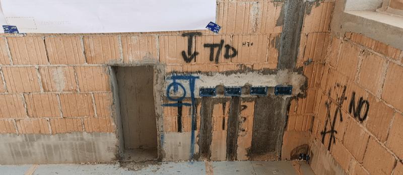 isolamento esterno a cappotto - Isolamento della parete in muratura armata per casa passiva 30