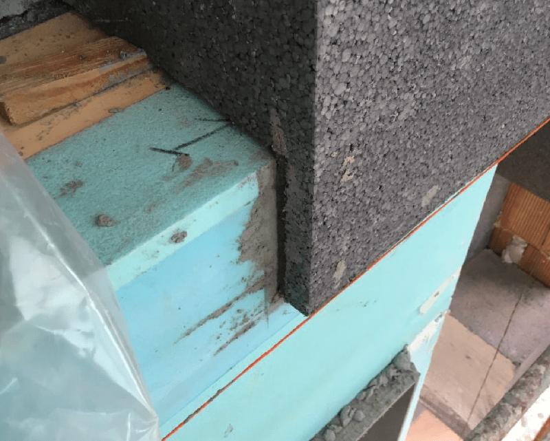 isolamento esterno a cappotto - Isolamento della parete in muratura armata per casa passiva 26
