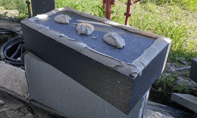 isolamento esterno a cappotto - Isolamento della parete in muratura armata per casa passiva 18