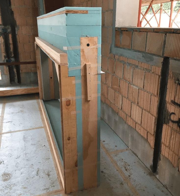 casa passiva - Serramento per casa passiva in monoblocco su misura 6
