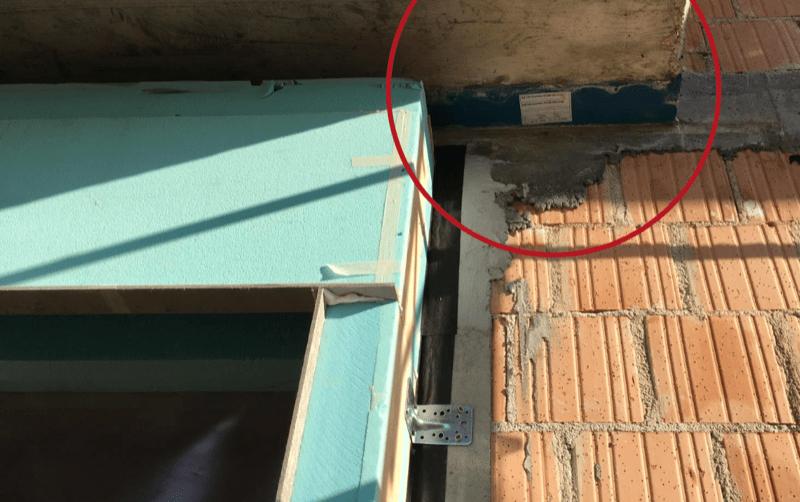 casa passiva - Serramento per casa passiva in monoblocco su misura 18