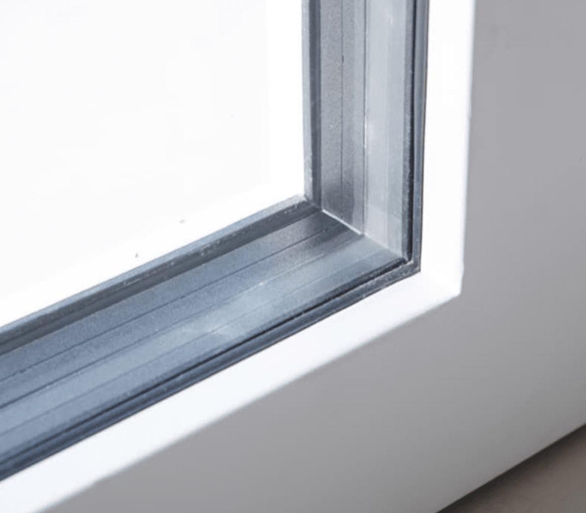 casa passiva - Serramento per casa passiva in monoblocco su misura 12