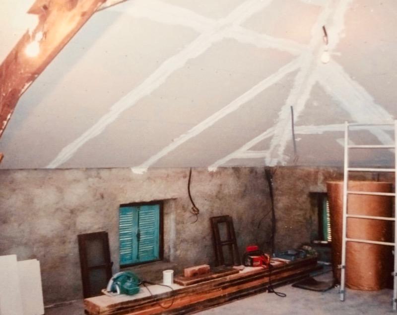 Architettura - L' isolation en granit devient une maison de vacances en Corse 102